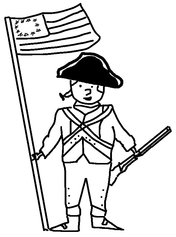 revolutionary soldier