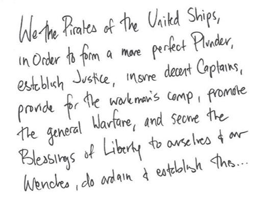 Pirate preamble