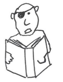 Reading pirate